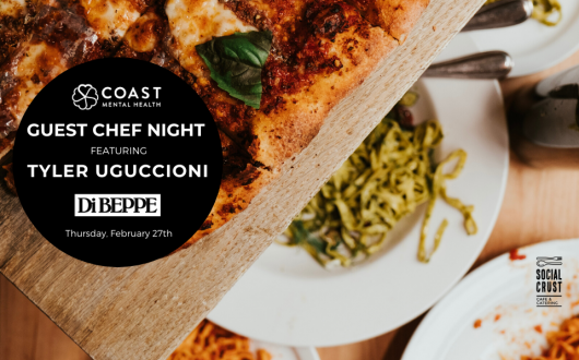 Social Crust Cafe & Catering Guest Chef Night - February 27, 2020