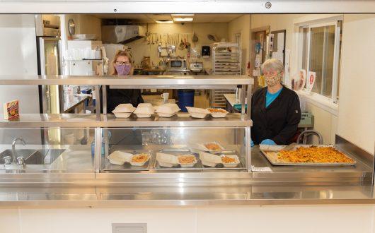 Food service at Coast
