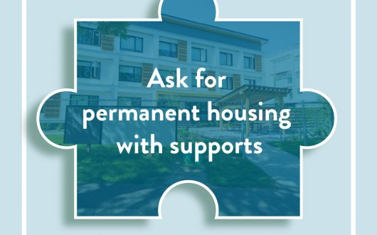 Advocating for permanent housing is the first piece of the puzzle