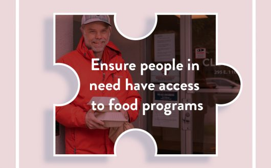 Connecting vulnerable populations with food and recovery