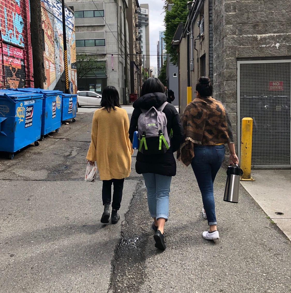 Outreach street walks