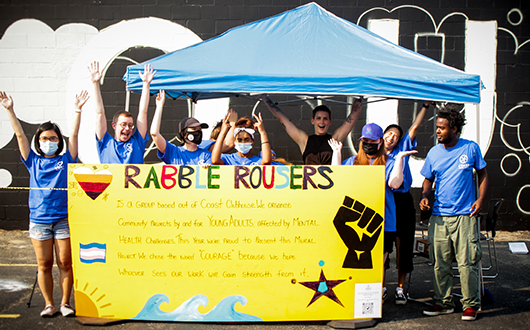 Rabble Rousers at Vancouver Mural Festival
